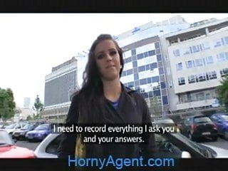 Amateur satellite mode Hornyagent morgan strips off and gets fucked my a fake mode