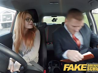 Driving test sex video Fake driving school ella hughes fails her test on purpose