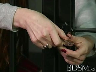 Big boobs the hard way 6 - Bdsm xxx caged sub learns the hard way with anal treatment