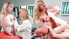 Enfermeira da cadeia fode lésbica prisioneira