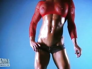 Teen female muscle models Female muscle babe ginger martin has an amazing body