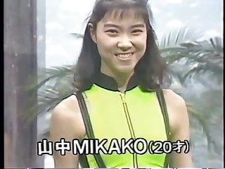Nn nudes Japanese tv nn- retro spandex swimsuit and leotard show