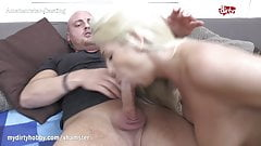 MyDirtyHobby- Shy fitness babe swallows at her first casting