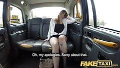 Fake Taxi Busty passenger gives good tit wank and rides