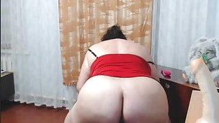 Webcam bbw ass dancing