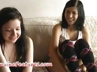 Teen punk cotume idea - Teen punk lesbians masturbate on the couch