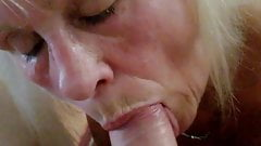 Granny Jan loves to suck the cock