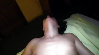 Loud moaning orgasmic girl