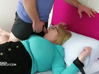 5th graders busted having sex Huge tits and belly sally tied to a bed for her 5th fuck