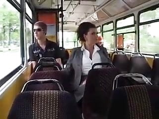 Breast milk glass - Woman on bus pumping breast milk