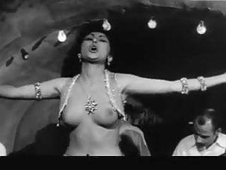 Vintage 1959 rca victor victrola phonograph 19 year old greek topless dancer marita constantinou in 1959