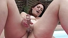 Amazing Mature and Her Dildo