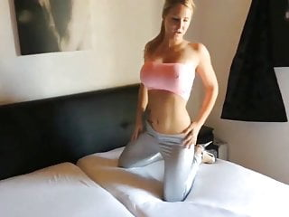 Nice blonde ass crack Cracked a luxurious blonde on anal