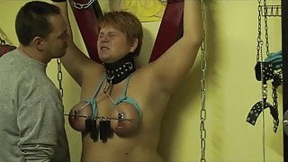 Breasts and nipple torture ...