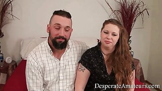 Casting compilation – Desperate Amateurs – real hot moms need money