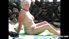 OmaFotzE Granny Outdoor Pictures Collection