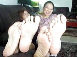 Asian ladies models 2 asian ladies soles
