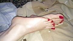 my wifes sexy feet