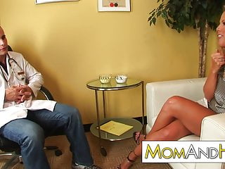 Kayla synz big boobs are bliss Milf mom kayla synz anal with weird doctor