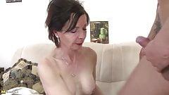 Young motherfucker fucks kinky mature mother