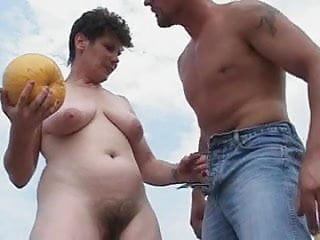 Fields of the nephilim penetration Mom likes it out in the field