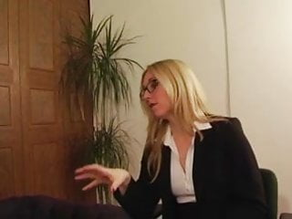 Femdom literotica spanking - Posh office mistress has sex with her slave
