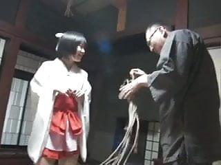 Excessive rope bondage Japanese style rope bondage training 1 no nude