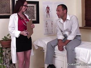Doctor fetish lesbian Imposter doctor