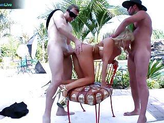 Vivica fox blowjob video - Diamond fox squirting hard on anal sex with erik everhard