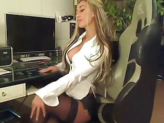 College dildo video Amazing german blonde