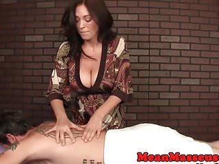 Thai masseuse handjob Bigboobs milf masseuse ruining clients orgasm