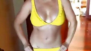 Britney spears in various bikinis