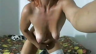 Horny old bitch with great wet monstercunt