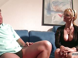 Seduce her to want anal - German step-mom want his big cock and seduce him to fuck her