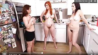Three Hot Hairies