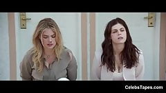 Alexandra Daddario has hardcore sex in doggystyle