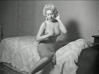 50 s vintage dresses - Im a woman - vintage 50s busty striptease stockings