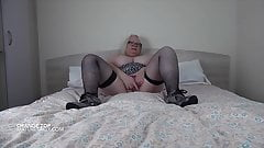 Sally playing with her pussy