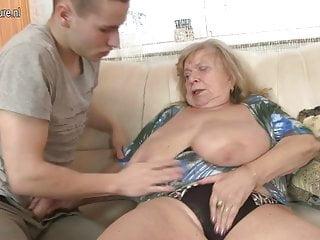 Boy fuck grandma