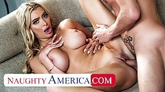 Naughty America – MILF Linzee Ryder rides neighbor's cock