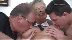Hot German Mature Threesome
