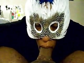 What does suck it up mean - Substitute teacher sucks a mean dick in mask