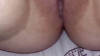 Juicy masturbation for master creamy pussy