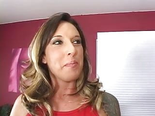 Guy shows cock - Tattooed milf shows off her nice curvy ass for lucky guy then gets fucked