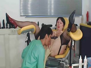 Cock doctor female touching - Milf doctor anal fists female patient