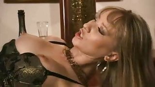 Anal for blonde in stockings