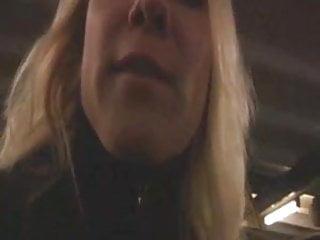 Sex on the subway - Slutty german teen has fun on the subway