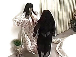 Small huge boob Huge boob interracial lesbian cat fight