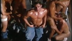 Gay Orgy - Kyle McKenna, Jeff Stryker, Paul Morgan, & More