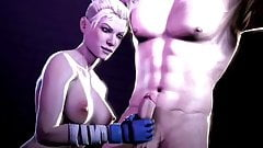 Compilation of hardcore 3D porn with Cassie Cage